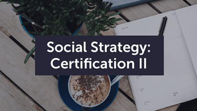 Social Strategy Certification Course Graphic