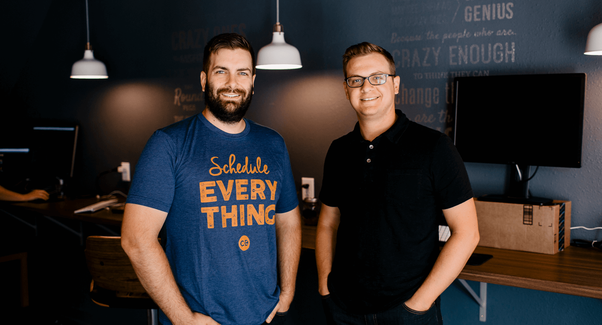 CoSchedule Co-Founders, Garrett Moon and Justin Walsh